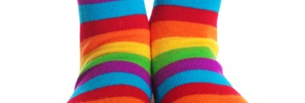 Can you make socks interesting?